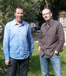 Pierre Boisserie et Eric Stalner