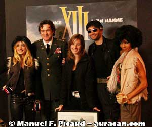 Jessica Martin, le Colonel Carrington, Amandine Morisset,  XIII et Jones