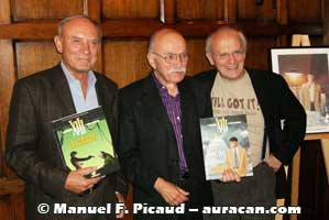 Jean Van Hamme, William Vance et Jean Giraud