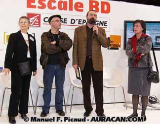 La remise du Prix ACBD 2008