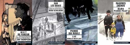Les albums Rivages/Casterman/Noir