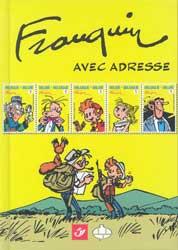 Franquin avec adresse (Tirage normal)