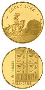 La pièce en or, vendue 400 €