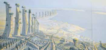 Luc Schuiten : La cité arborescente (15000-18000  €)