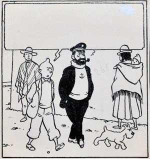 Tintin et le temple du Soleil © Hergé, Moulinsart