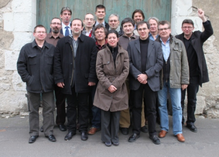 Photo à l'issue de la réunion de l'ACBD lors de bd BOUM 2010 © Manuel F. Picaud / ACBD