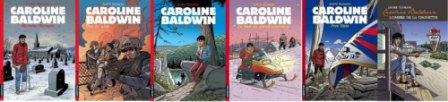 Albums de la série Caroline Baldwin © André Taymans / Casterman