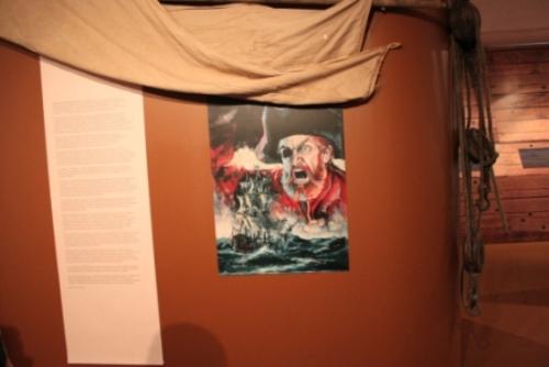 L'emblême des pirates : Barbe Rouge © Manuel F. Picaud / auracan.com