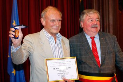 Jean Van Hamme et Freddy Thielemans © Marc Carlot