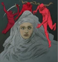 exposition Le Curé du Diable : Madeleine (c) Hugo Bogo