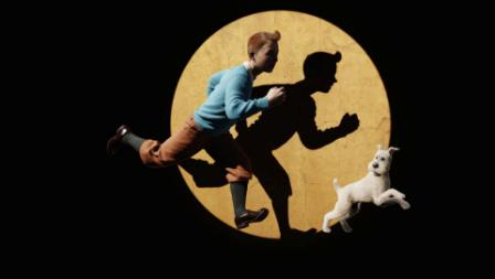 Milou et Tintin © Sony Pictures Releasing France