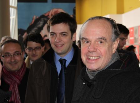 Pierre Lavaud, Benoît Mouchart et Frédéric Mitterrand - 2011 (c) Manuel F. Picaud