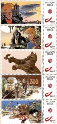 Les timbres Frank Pé