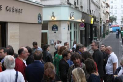 Foule à l'inauguration de la Galerie Glénat © Manuel Picaud / 2013