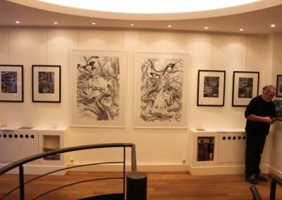 Exposition Daria Schmitt à la Galerie 9e art © Manuel Picaud / 2013