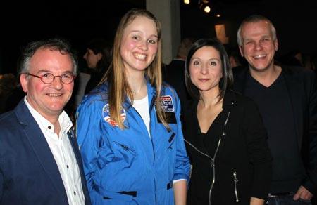Pierre-Emmanule Paulis, Tania, Vanessa Costanzo, Luc Gilson (c) jean-Jacques Procureur / Auracan.com