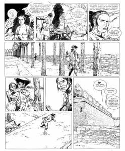 L'Epervier - T2 - page © Patrice Pellerin / Dupuis estimation 500-600 €