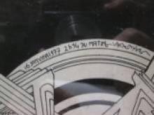 détail d'une planche de Philippe Druillet
