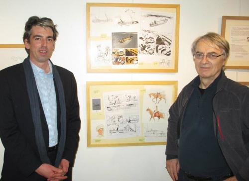 Brieg Haslé-Le Gall et François Bourgeon