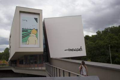Le Musée Hergé à Louvain-la-Neuve © Christian de Portzamparc / Photo: Marc Carlot