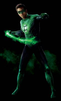 Ryan Reynolds dans le rôle d'Hal Jordan/Green Lantern