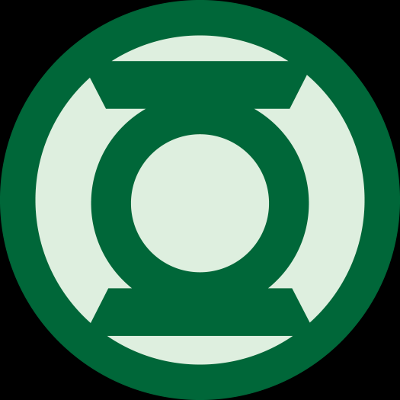le symbole des Green Lantern