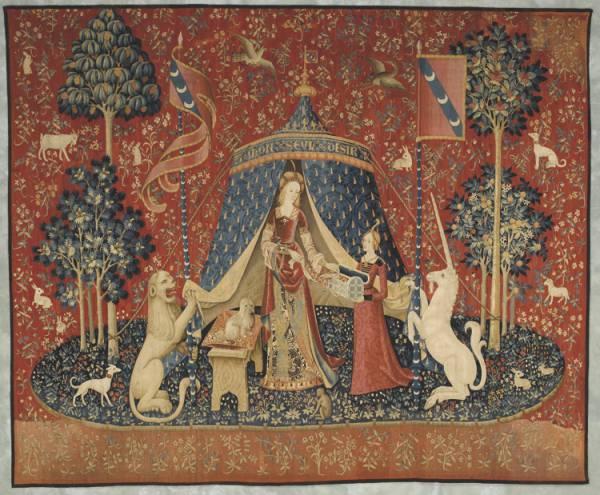 La Dameà la Licorne © Musée de Cluny