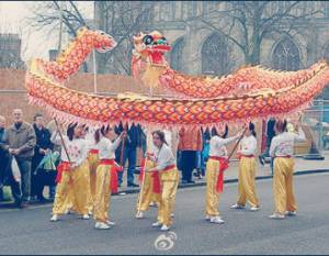 La danse des dragons occupera les rues le dimanche 6 à 11h, 14h et 16h