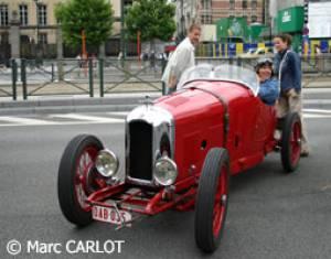 Le Rallye du journal Tintin © M. Carlot