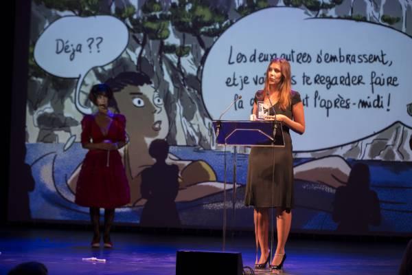 Aude Mermilliod, prix Raymond Leblanc 2015
