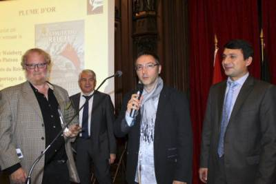 Yves Plateau et Olivier Weinberg reçoivent leur Plume d'Or