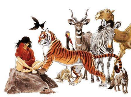 Extrait du Artbook Zoo © Franck Pé et Philippe Bonifay / Dupuis