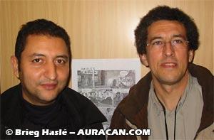 Youssef Doaudi et Philippe Bonifay