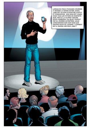 extrait de la BD Steve Jobs - Jungle - commercialisé uniquement en format numérique