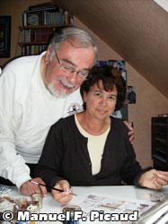 Gilles Chaillet et Chantal Defachelle