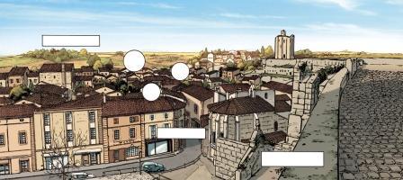 Extrait Châteaux Bordeaux – T.1 – planche 27 (couleurs) © Espé – Corbeyran / Glénat