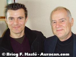 Denis Falque et Didier Convard