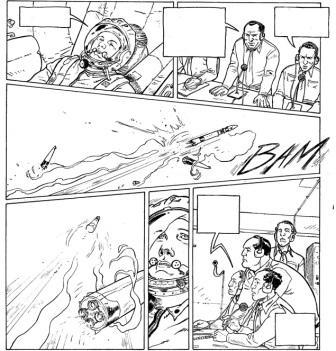 La Guerre secrète de l'Espace – extrait exclusif du T2 © Régis Hautière – Damien Cuvillier / Delcourt, collection Histoire et Histoires