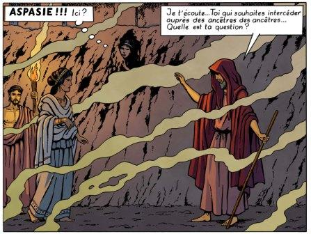 Orion T4 - extrait de la planche 13 © Marc Jailloux / Casterman, collection Jacques Martin