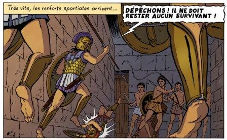 Orion T4 - extrait de la planche 17 © Marc Jailloux / Casterman, collection Jacques Martin