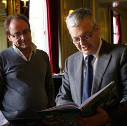 Pierre Kroll et Didier Reynders