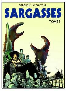 Sargasses T1, projet de couverture