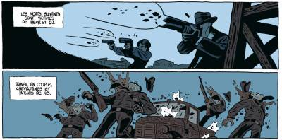 extrait Tyler Cross © Nury - Brüno / Dargaud