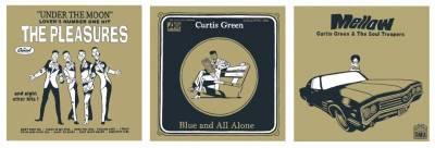 pochettes de disque série Curtis Green © Brüno