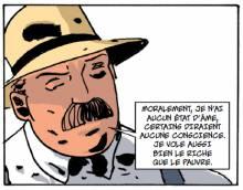 L'écrivain Georges Darien vu par Bruno Le Floc'h