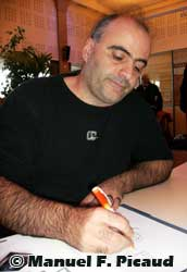 Eric Corbeyran (c) Manuel F. Picaud