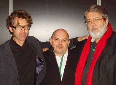 Mankho, Pascal Galodé et François Corteggiani © Brieg F. Haslé / Auracan.com