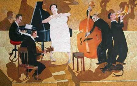 Groupe de Jazz par Serge Dehaes