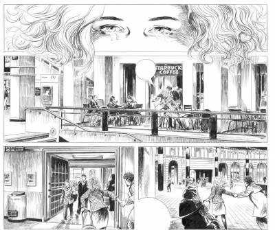 extrait page 70 © Jean-Claude Servais / Dupuis