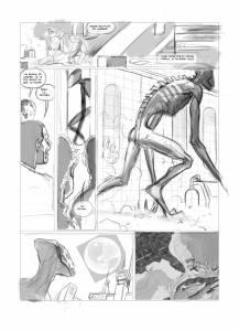 extrait page 113 encrage © Fryssen et Snejbjerg / Le Lombard
